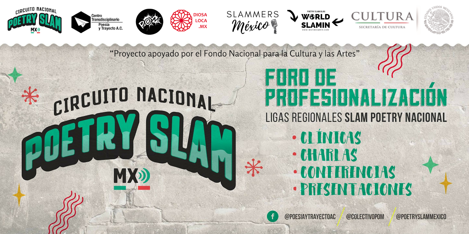 World SLAMIN - Circuito Nacional Poetry Slam MX