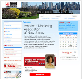 5/10/11 NJ American Marketing Association Presentation: Managing Your Reputation in a Social World