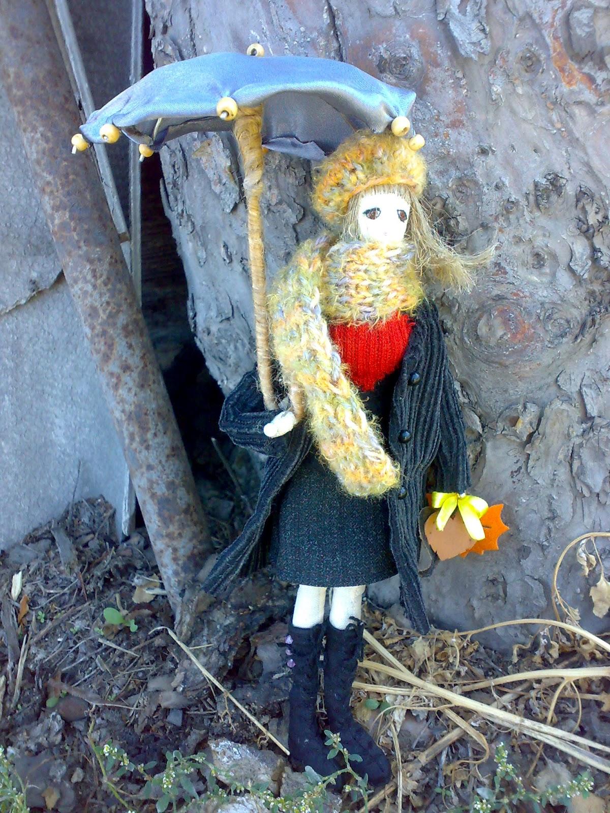 текстильная кукла Марина тряпиенс