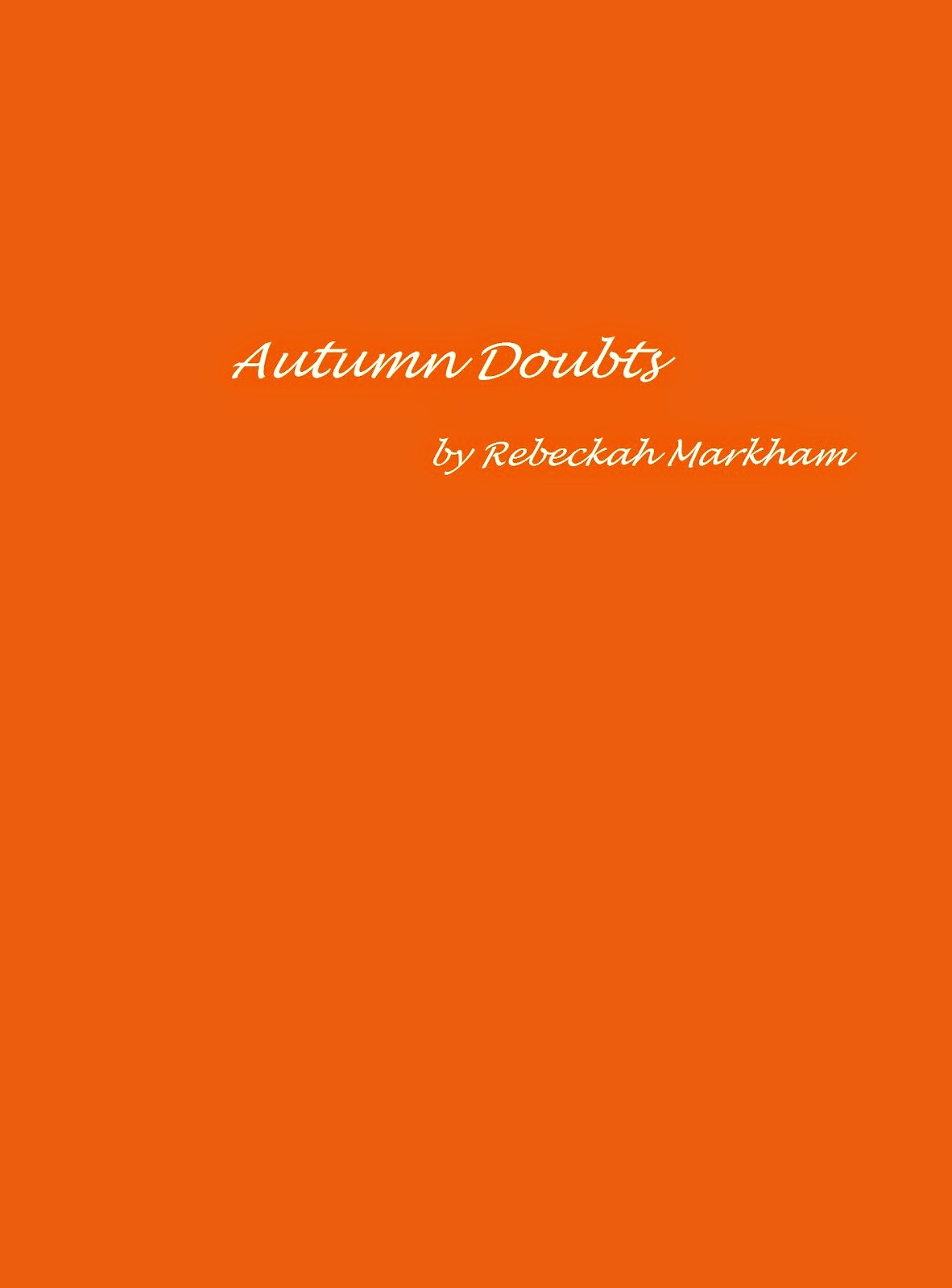 Autumn Doubts