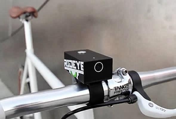Rideye Video Camera for Bikes