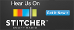 Available On Stitcher Radio App