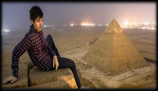 giza 1 - Increíbles fotos de la parte superior de la pirámide de Giza