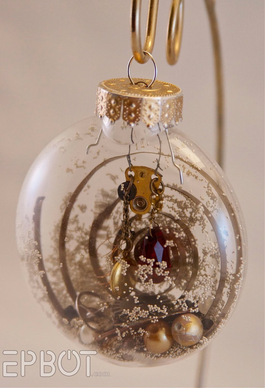 Epbot inspiration file steampunk christmas ornaments
