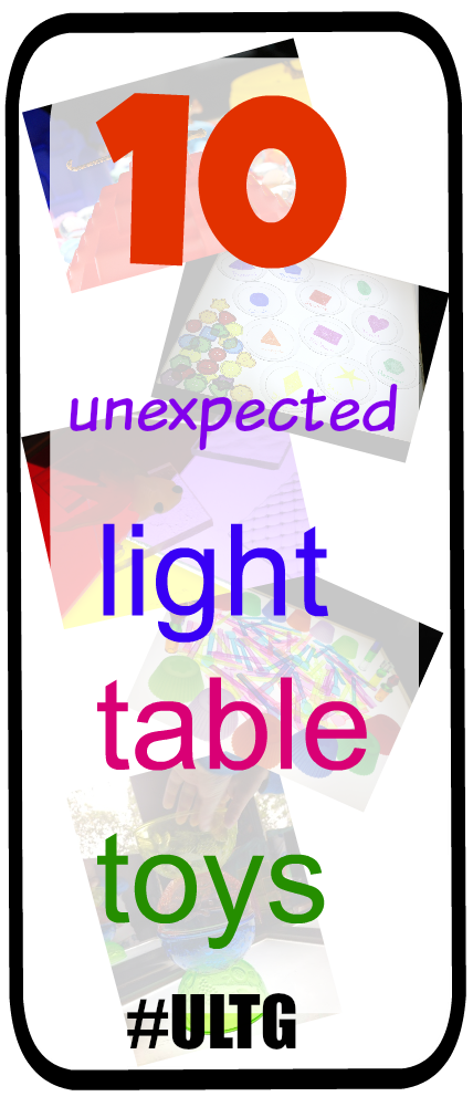 light table play toys and manipulatives