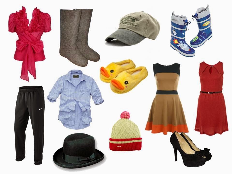 фото обувь и одежда