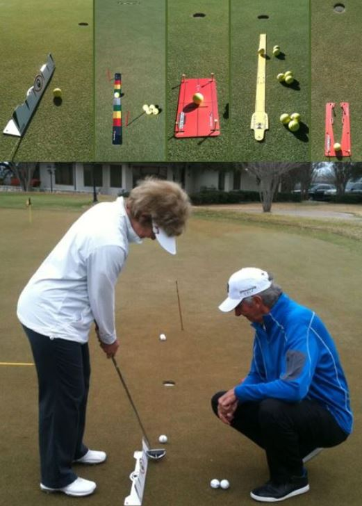 Training Aids from Eyeline Golf are Fun and Produce Results