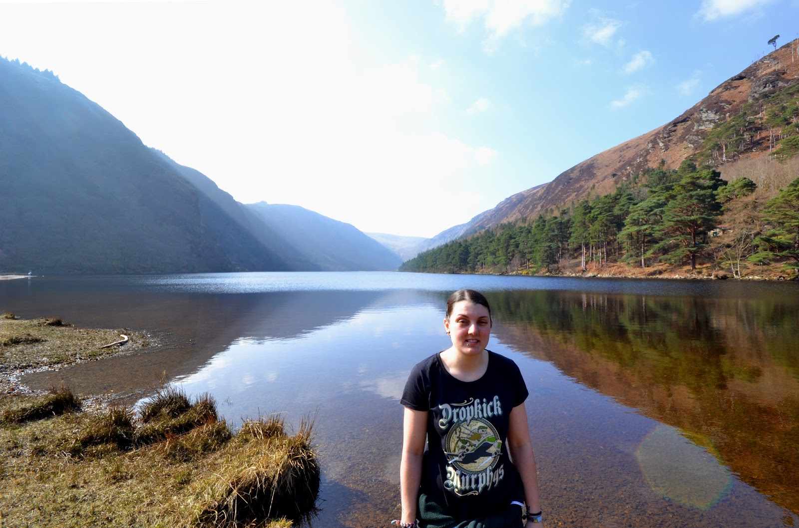 Wicklow mountains, Lough Tay, Guinness lake, tours, explore, Ireland, Dublin countryside, trip from Dublin, Glendalough,