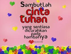 Cinta Tuhan :)