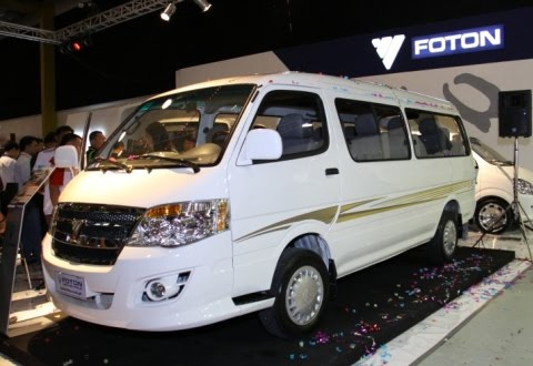 Foton Van Philippines Price List