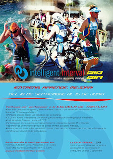 Escuela de triatlon intelligent interval