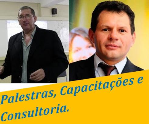 PALESTRANTES E CONSULTORES - PROFESSORES NIVALDO MONTEIRO E ISRAEL SILVEIRA