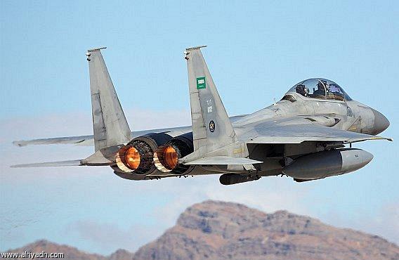 الشامل وبالتفصيل الممل عن تاريخ القوات الجويه السعوديه<<الصقور الخضر>> Saudi%2BArabian%2Bair%2Bforce%2BF15%2BAircraft%2BCrashes%2Bin%2BNorthwest%2BRegion