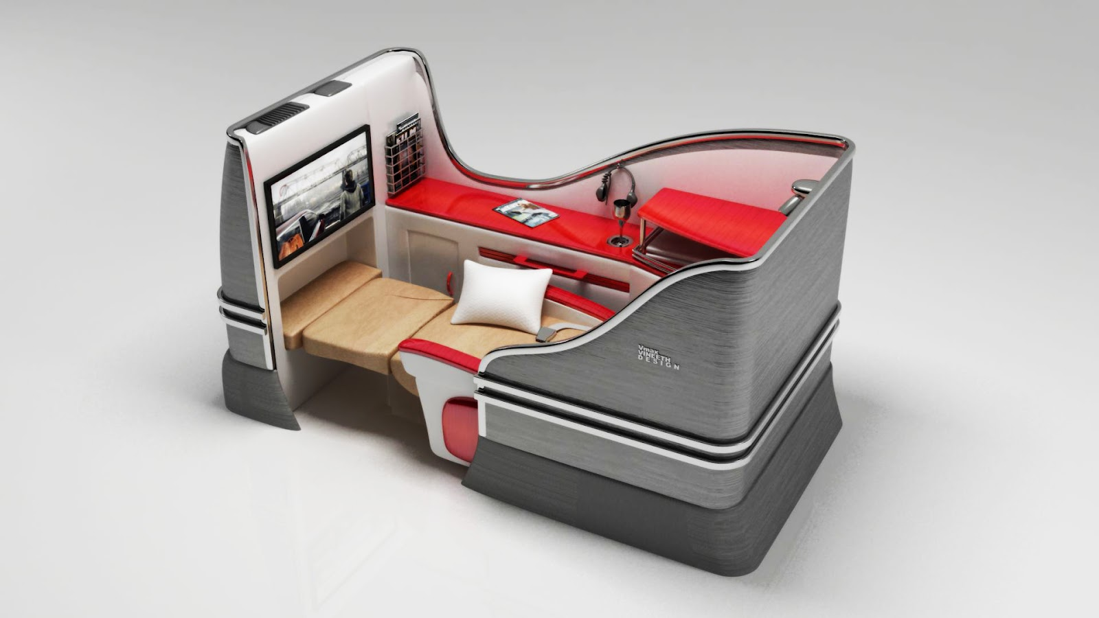 Design First Class Seat Design