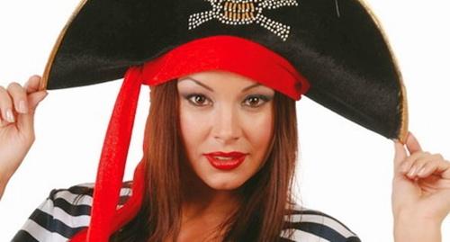 sombrero para disfrazarse de pirata