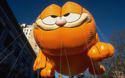 Garfield at the Macy's Thanksgiving Parade