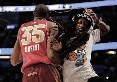 Lil Wayne e Kevin Durant