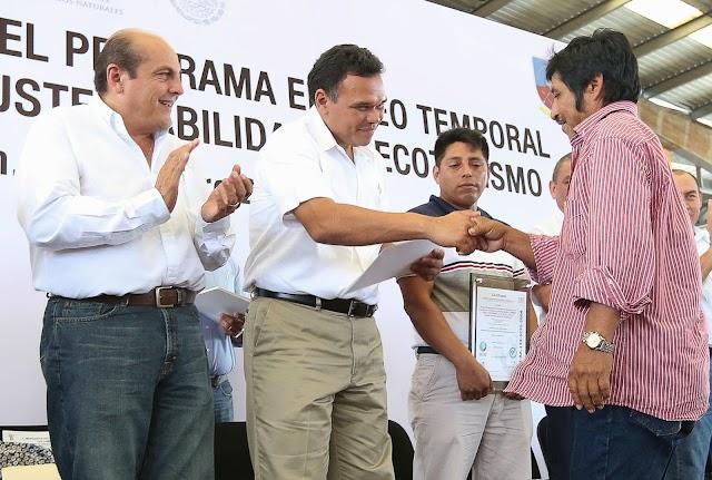Unidad y trabajo, elementales para asegurar el bienestar de Yucatán: RZB