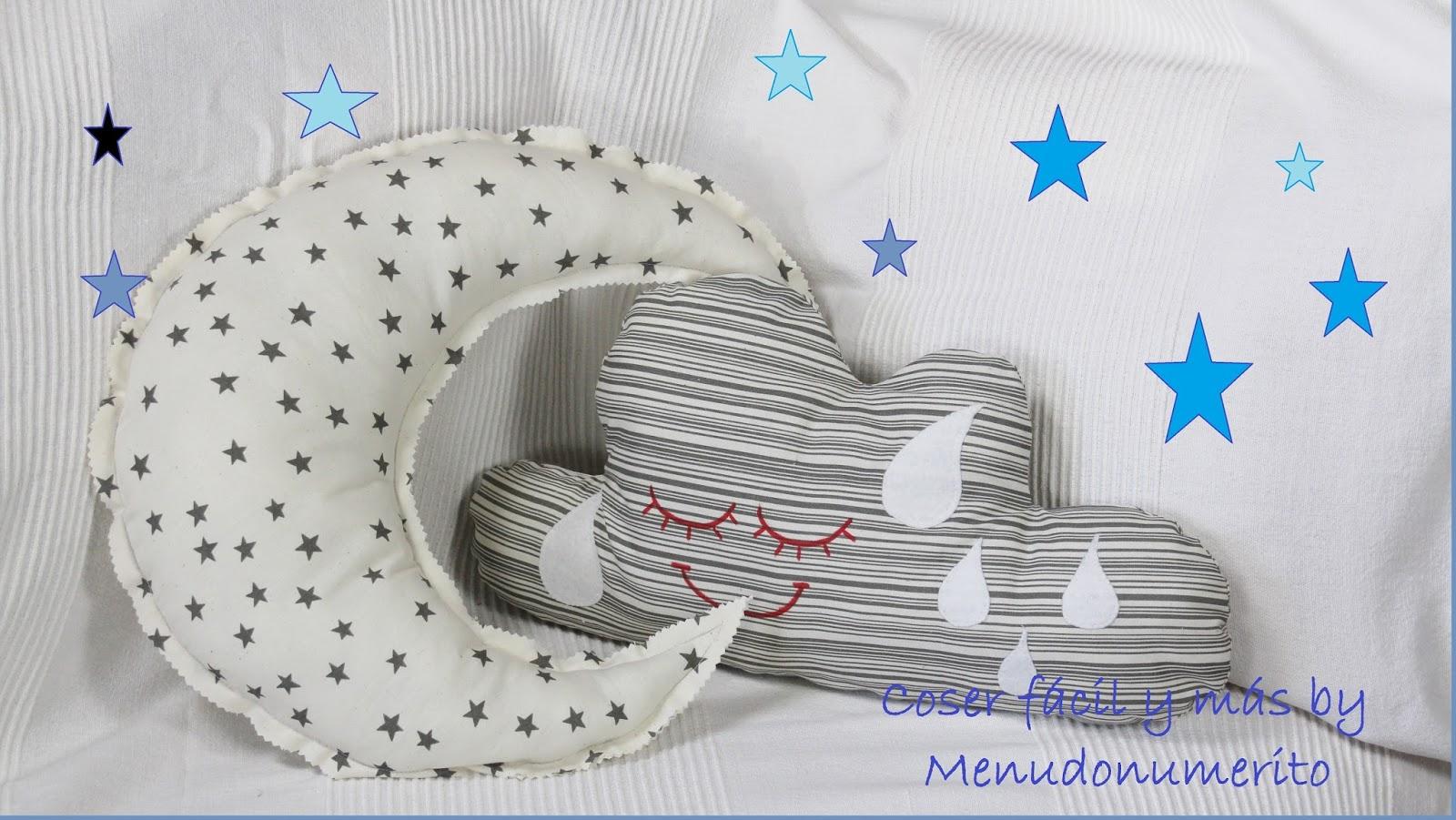C mo hacer un coj n en forma de nube el blog de coser - Como hacer cojines para sillas ...