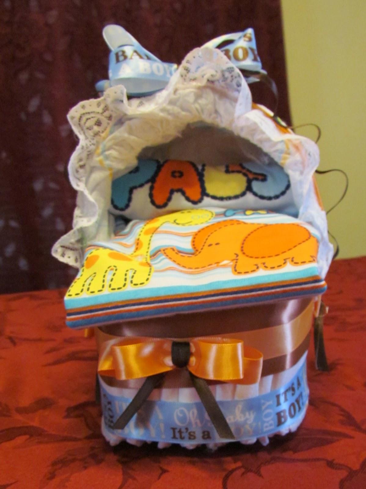 Diaper Baby Shower Bassinet