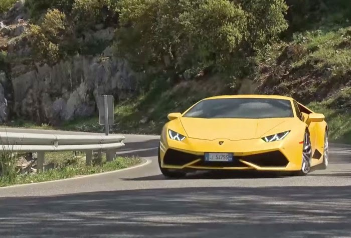 two new review for the new lamborghini huracan. Black Bedroom Furniture Sets. Home Design Ideas