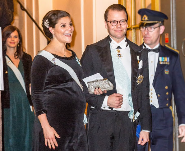 Sweden Royals Attended The Formal Gathering Of The Swedish Academy