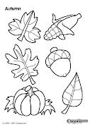 Recopilación de dibujos para colorear de otoño dibujos para colorear de otoã±o