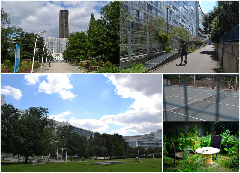 The secret life of the gare montparnasse invisible paris for Jardin atlantique
