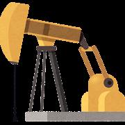 石油の採掘のイラスト