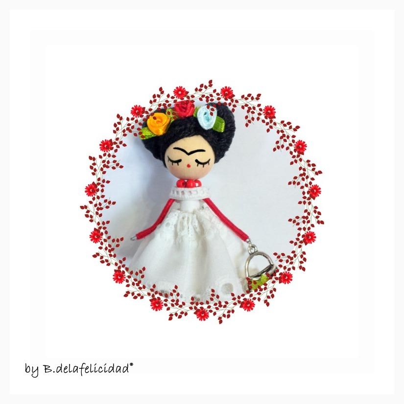 Art and jewelry handmade doll