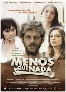 download Menos Que Nada   DVDRip AVI + RMVB Nacional poster capa dvd