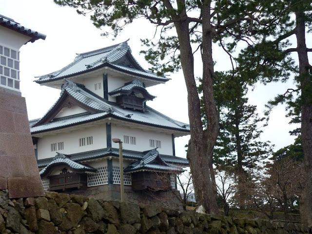 castelli giapponesi, kanazawa