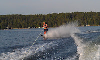Water Skiing Pine Beach Resort