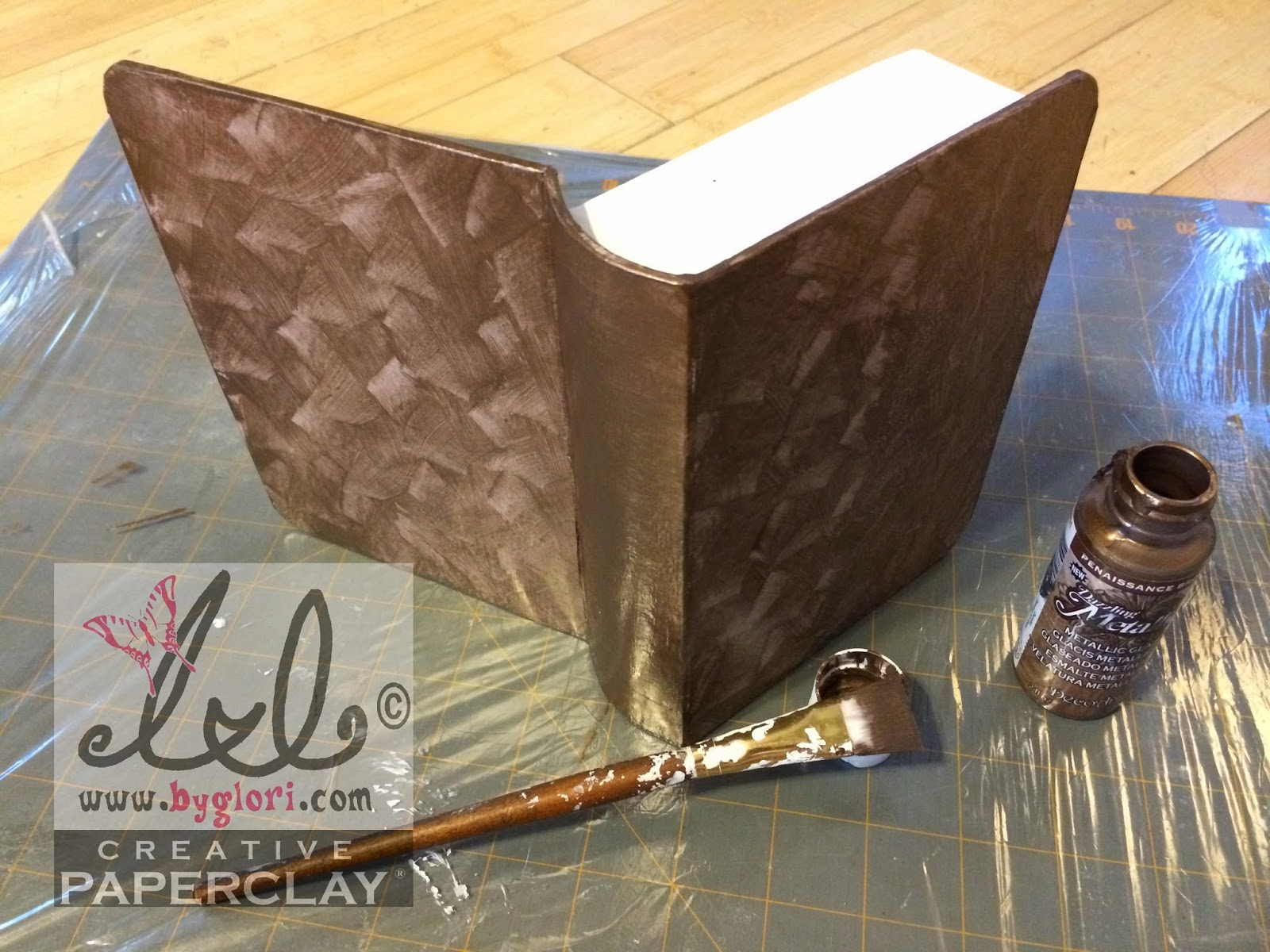 Paper Mache Book Cover : Creative paperclay air dry modeling material once upon a