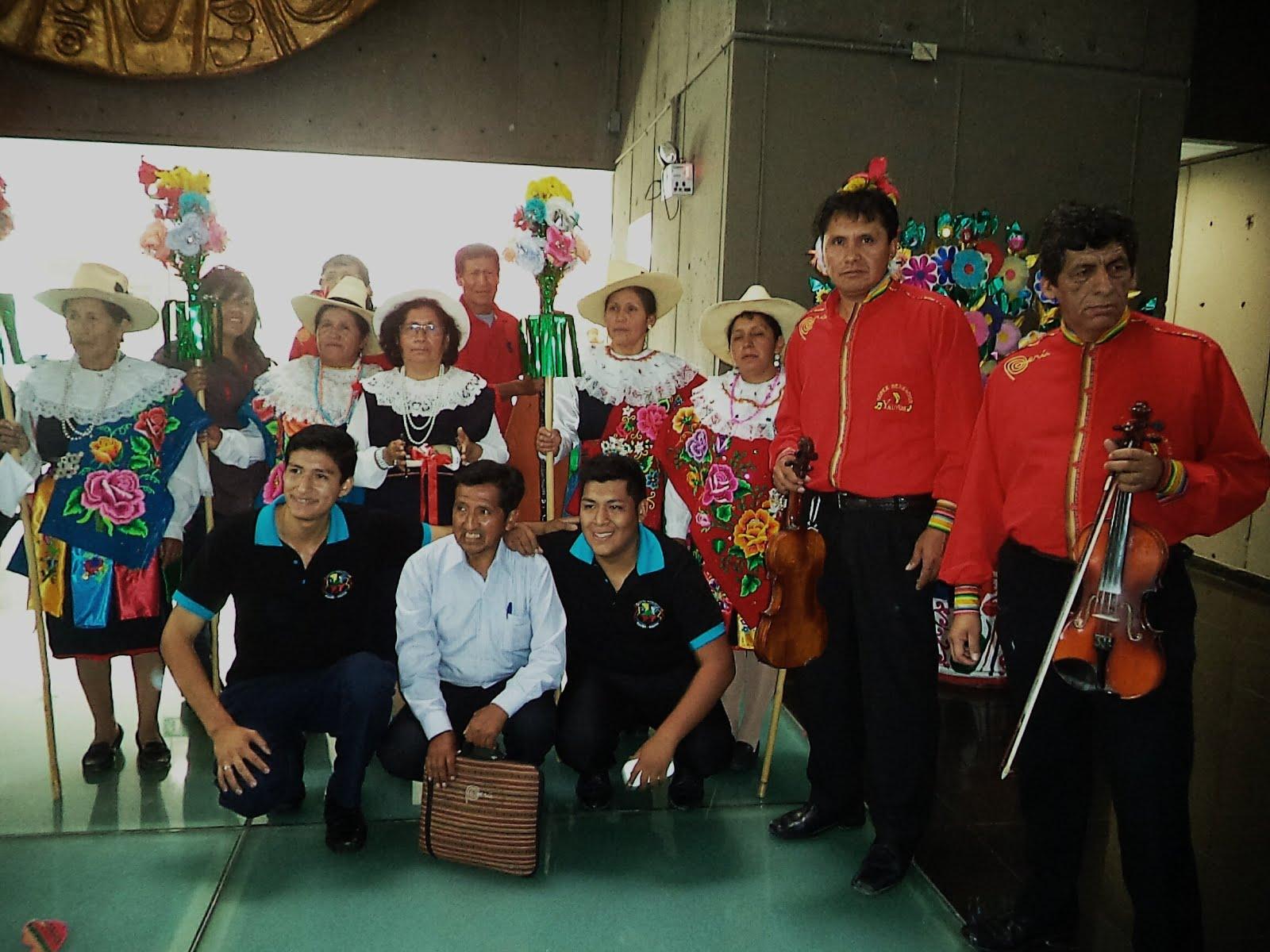 Pastoras de Huañec en el Minnisterio de Cultura Peruana