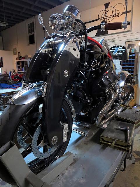 Bienville Legacy Motorcycle JT Nesbitt