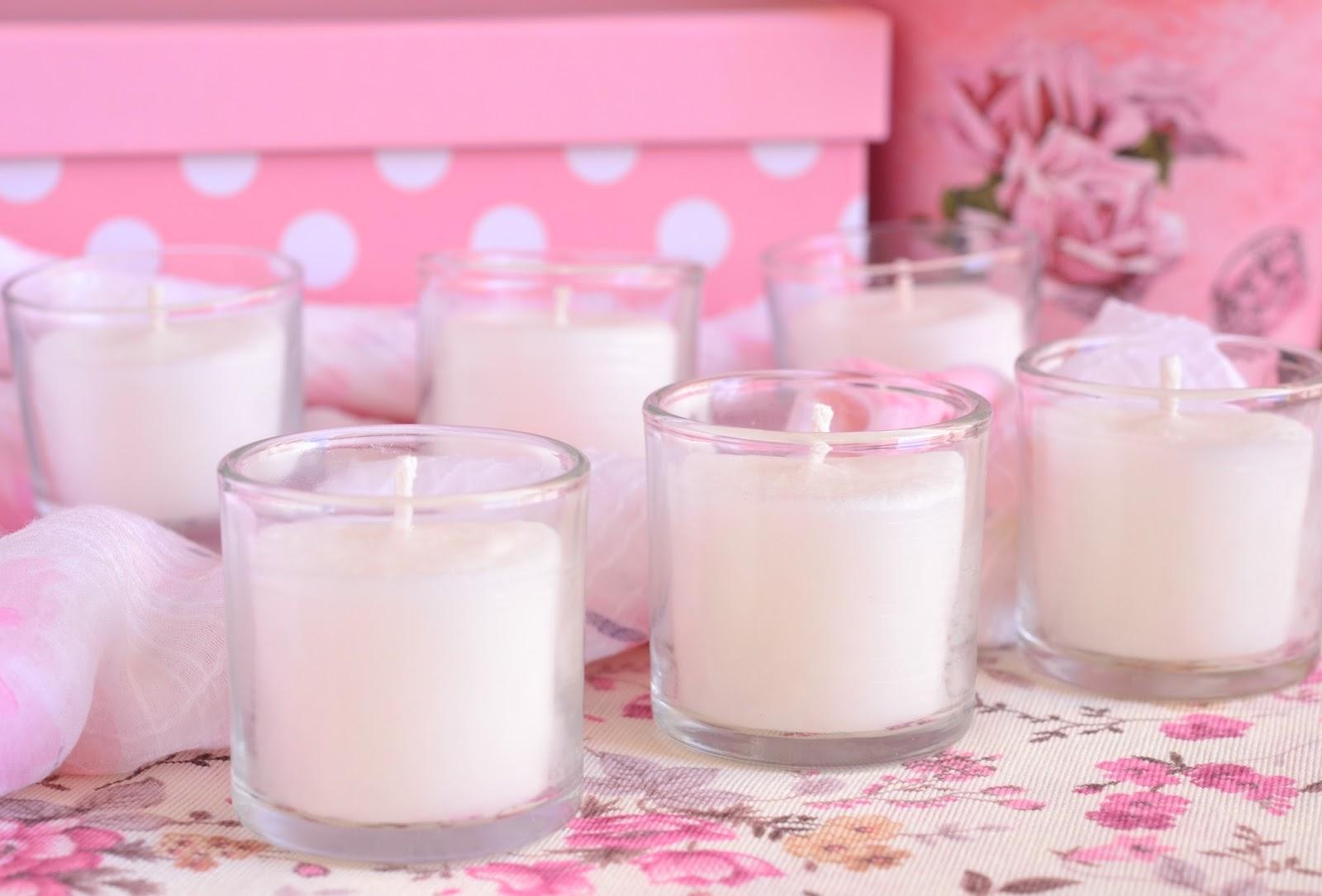 detalles de comunion velas de cera vegetal natural