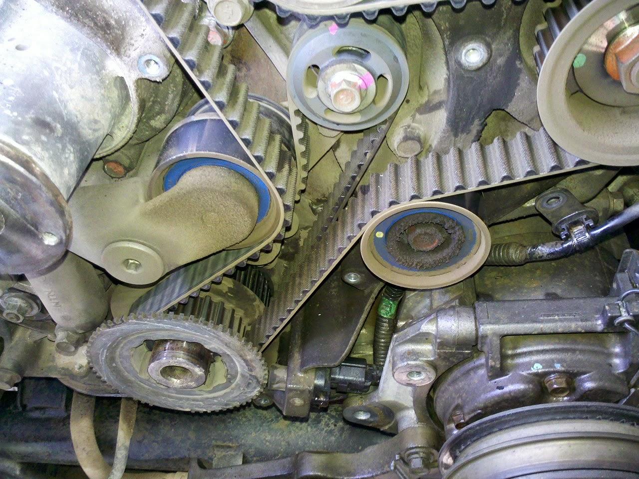 Mitsubishi Montero Timing Belt Replacement Car 2001 L200 2 5 Diagram House Wiring Symbols
