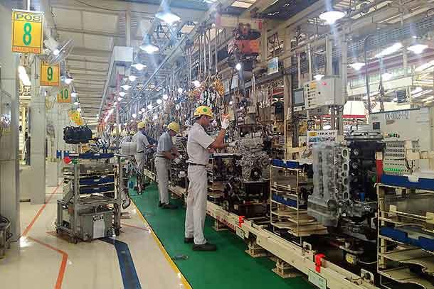 Melihat Pabrik Pembuatan Mesin Baru Toyota All New Fortuner 2016