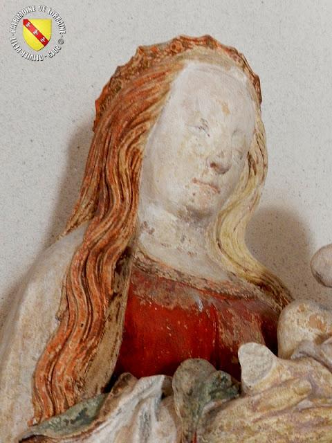 MARTHEMONT (54) - Eglise paroissiale : Vierge à l'Enfant (XVIe siècle)