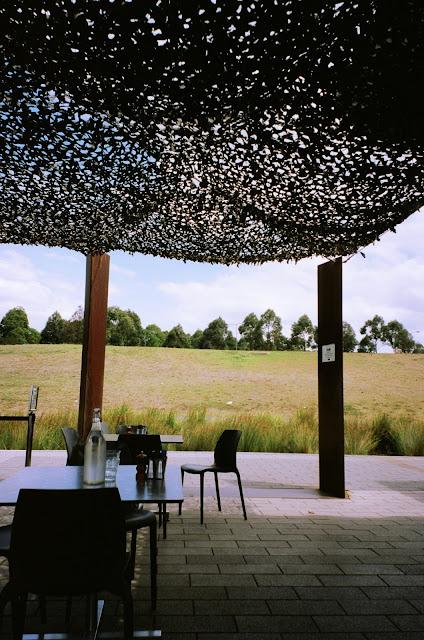 Armory Wharf Cafe Sydney fujifilm natura classica film photography