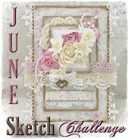 June Challenge -  Becky's sketch