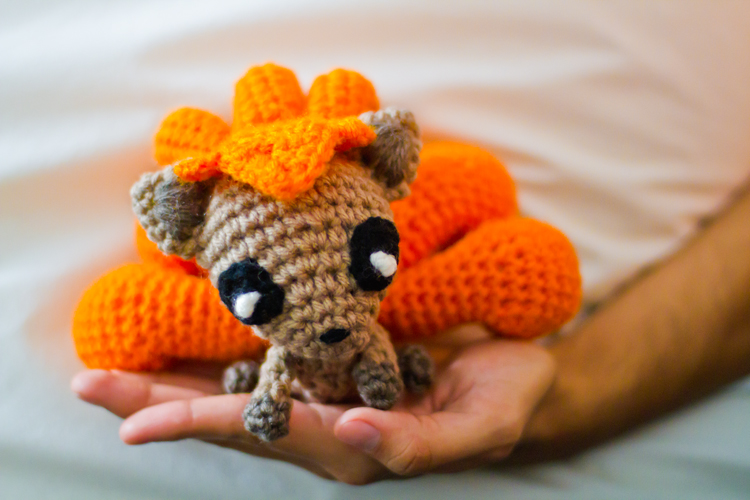 Amigurumi Tutorial Pokemon : Baby Vulpix Amigurumi Adorably Kawaii