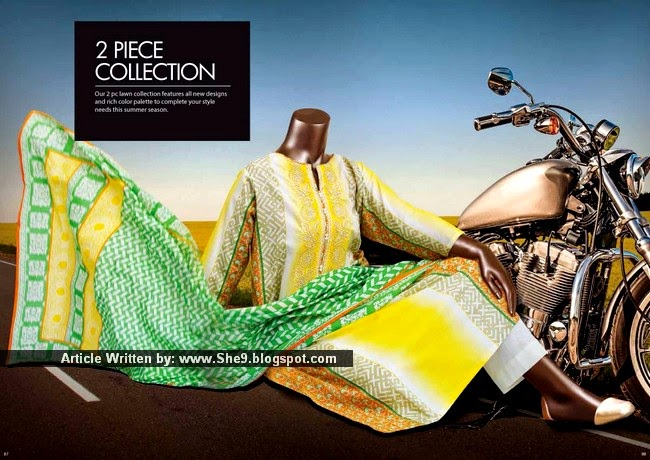 Junaid Jamshed Lawn Collection 2015 Second Edition
