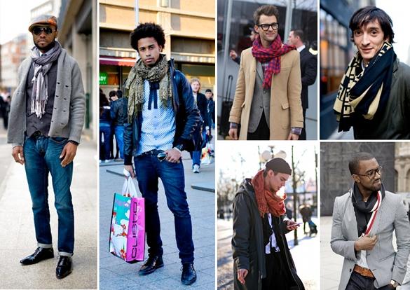 moda masculina foulards