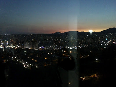 Film+Semi+Thailand enjoying the sun set from above seoul city takes a ...