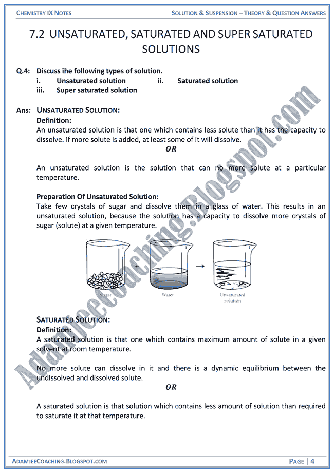 solution-and-suspension-theory-notes-and-question-answers-chemistry-ix