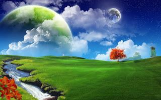 doğa ve manzara resmi efektli resimler 3 di