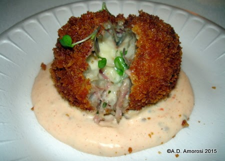 Reuben Arancini from Avenue Delicatessen