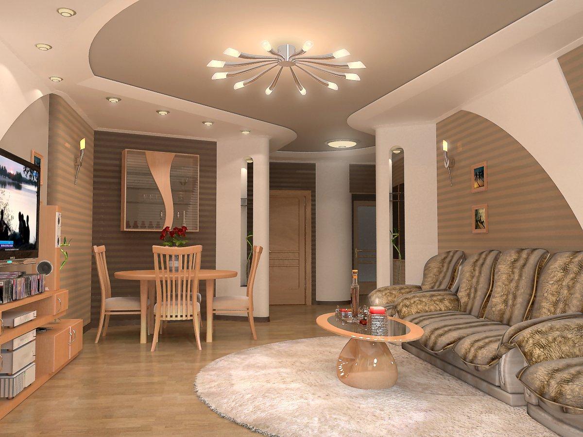 Потолки натяжные, фото для зала и 18